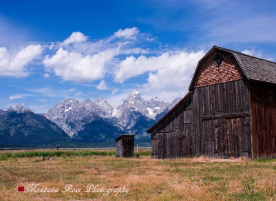 Wyoming Barn